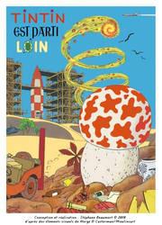 Tintin est parti loin (Tintin has gone far)