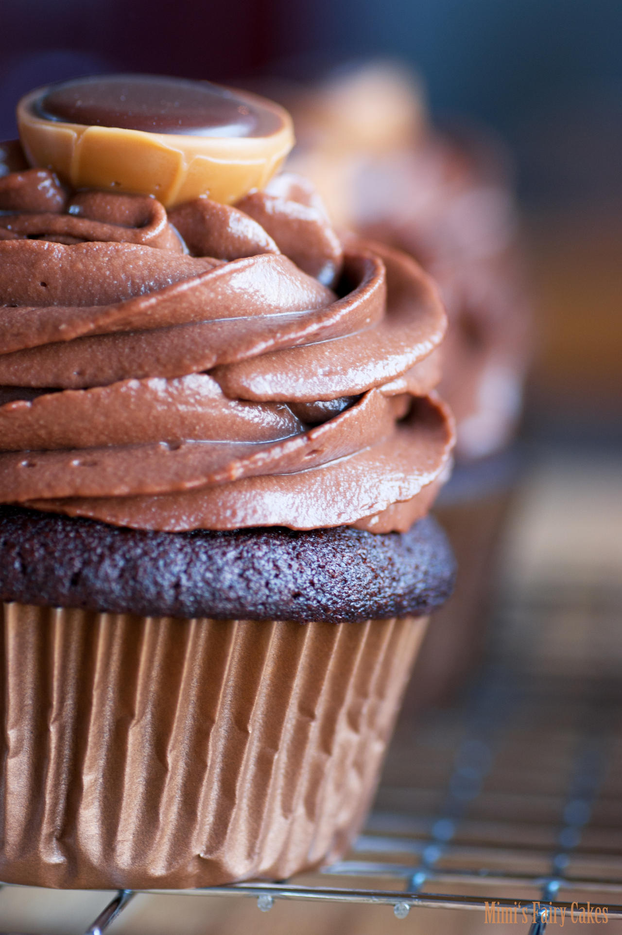Toffifee-Chocolate-Cupcake by Cailleanne