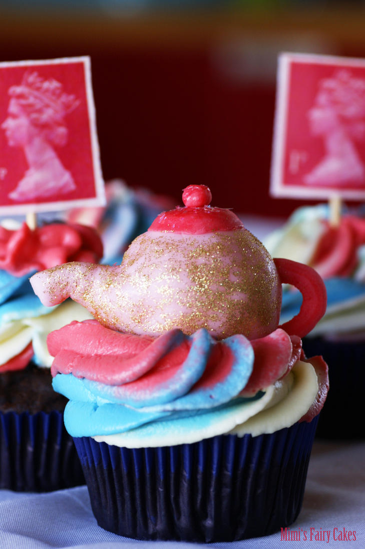 Very British Cupcakes by Cailleanne