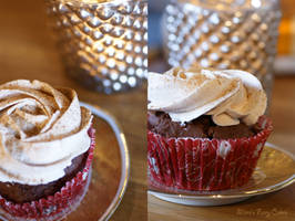 Bring-up-some-christmas-spirit Cupcakes by Cailleanne