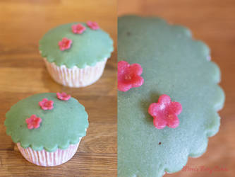 Swedish Prinsesstarta Cupcakes by Cailleanne