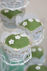 Romantic Wedding - Princess Cupcakes by Cailleanne