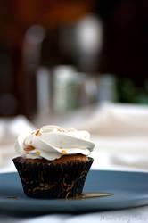 Black Tea Cupcake by Cailleanne
