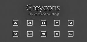 Greycons Android Icons by AlexJMiller