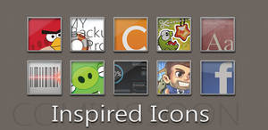 Inspired Icons by AlexJMiller