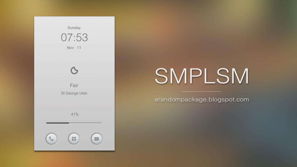 SMPLSM by AlexJMiller