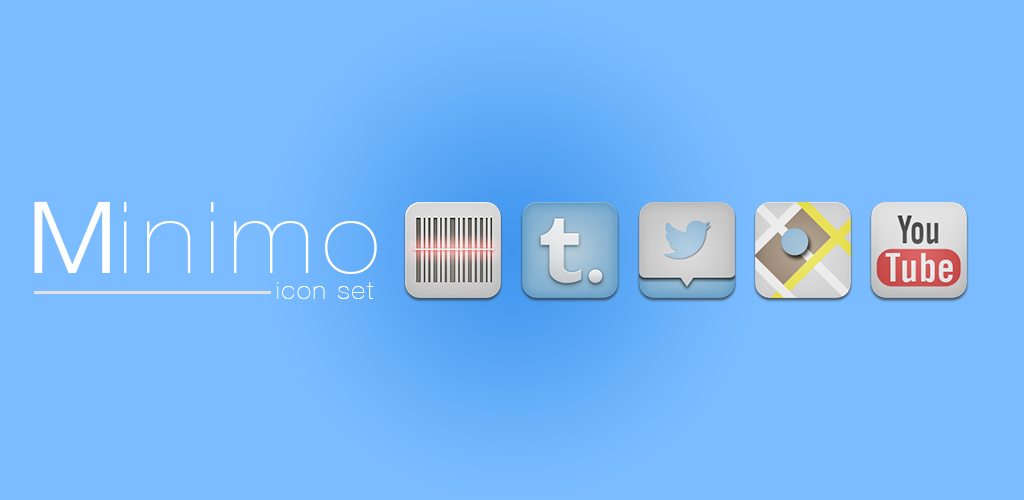 minimo icon pack by AlexJMiller