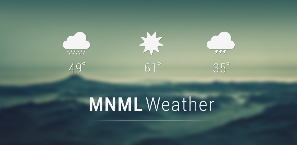 Another Shot of MNML Weather by AlexJMiller