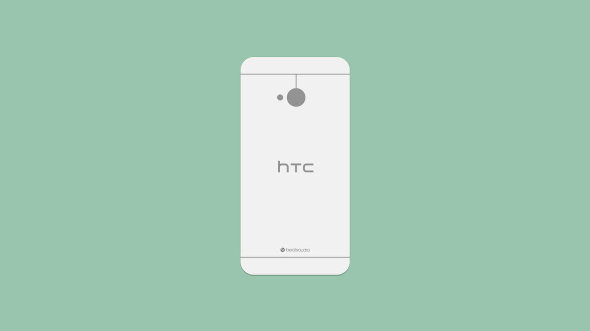 HTC One Flat by AlexJMiller