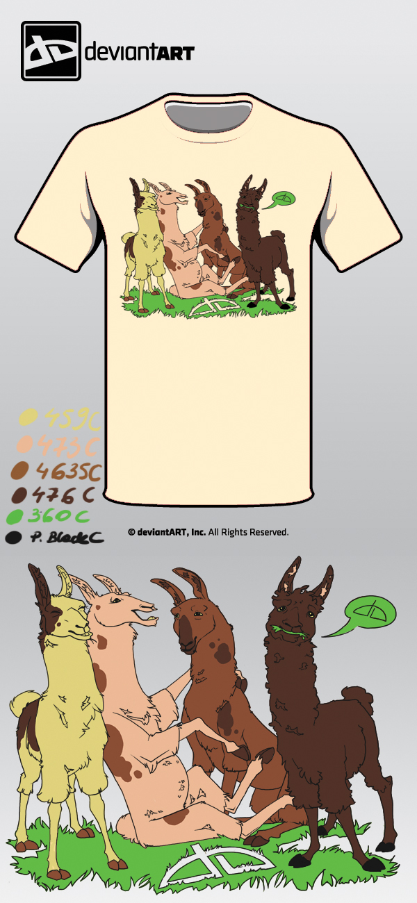 dA Llamas by Albinea