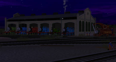 Welcome to the Sodor Railway! by OliverTheGWR14xx11