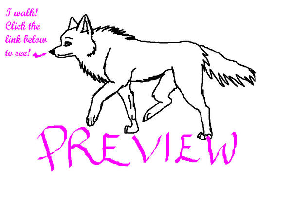 wolf walking animation test by kurayamiwolf on deviantart. Black Bedroom Furniture Sets. Home Design Ideas