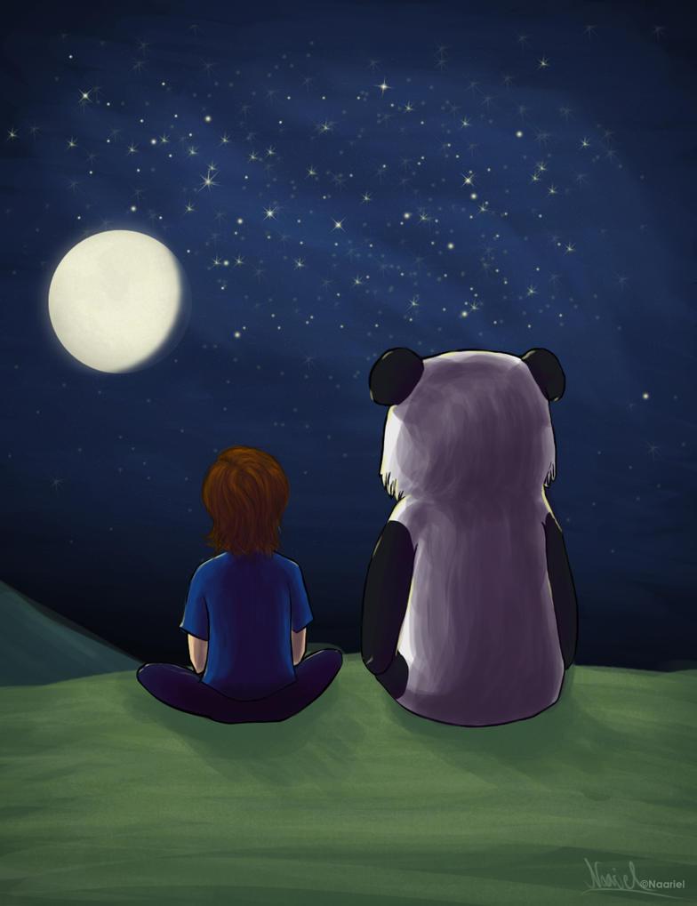 Me and My Panda by Naariel