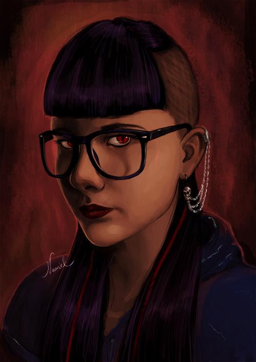 Portrait Commission by Naariel