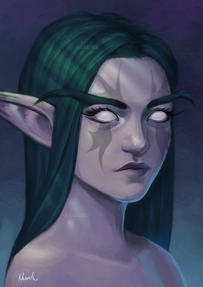 Night Elf by Naariel