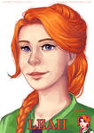 Leah from Stardew Valley (+timelapse video)