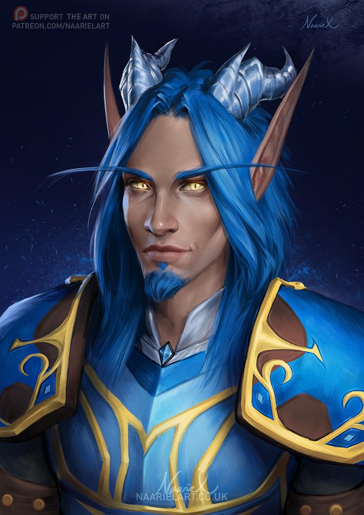Warcraft Commission: Tevruden by Naariel