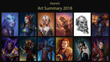 2018 Art Summary by Naariel