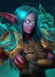 Night Elf Monk / World of Warcraft [C]
