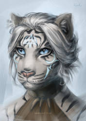 Elder Scrolls, Vahara the Khajiit [C] by Naariel
