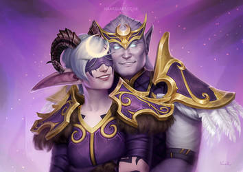 Our Love in Exodar [C] by Naariel