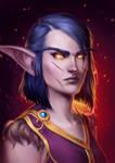 Night Elf Druid Sequezza / World of Warcraft [C]