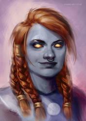 Bryna, the Dark Iron Dwarf [C]