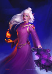 Sira, Shadow Sorceress [C]