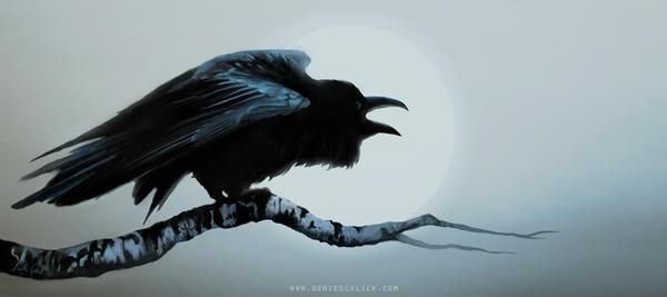 The Raven by benteschlick