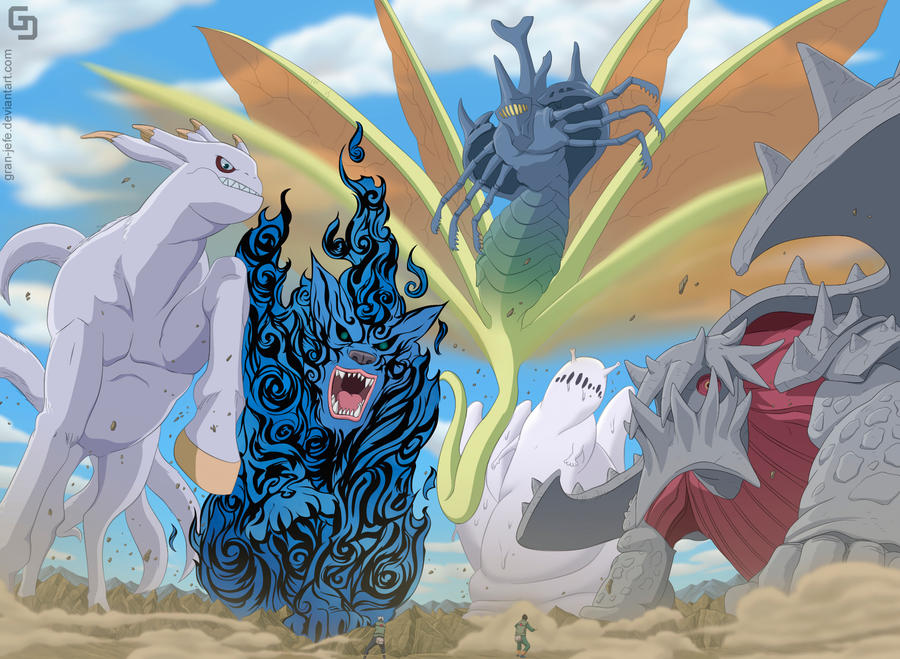 Naruto 570 Bijjus by gran-jefe