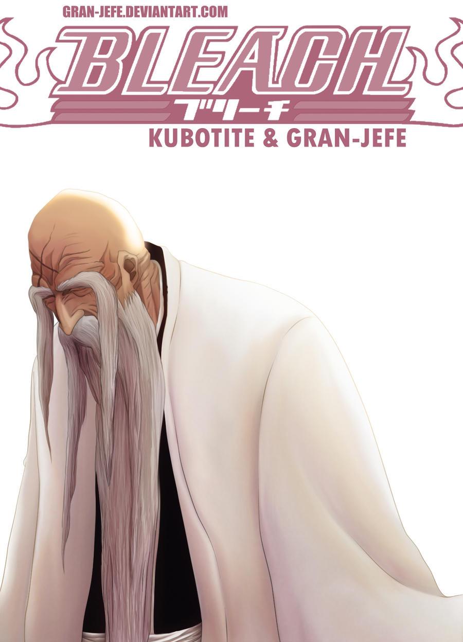 Bleach Cover 58 (FanArt) Yamamoto Genryuusai by gran-jefe