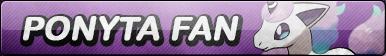 Ponyta Galar Fan Button