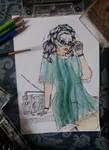 Lady 80' by brendabondioli-Shi