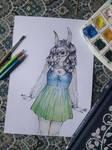 Lady Bunny by brendabondioli-Shi