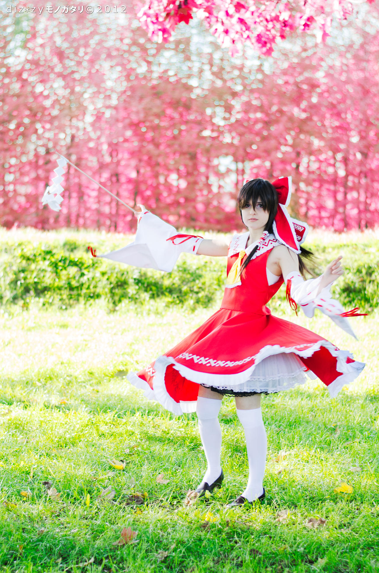 Touhou: From the Blooming Trees by JuriaScarlet