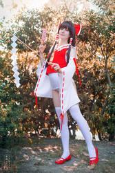 Touhou: Reimu Summer Miko I