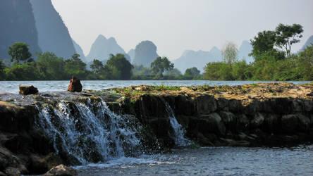 Landscape near Yangshou, China