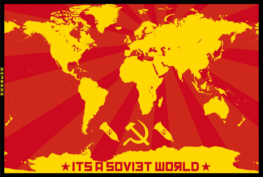 It's A Soviet World by 171Scorpia