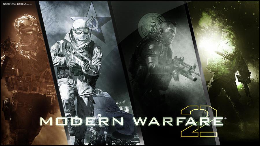 Mw2 Hd Wallpaper By Call Of Duty Modern Warfare 2