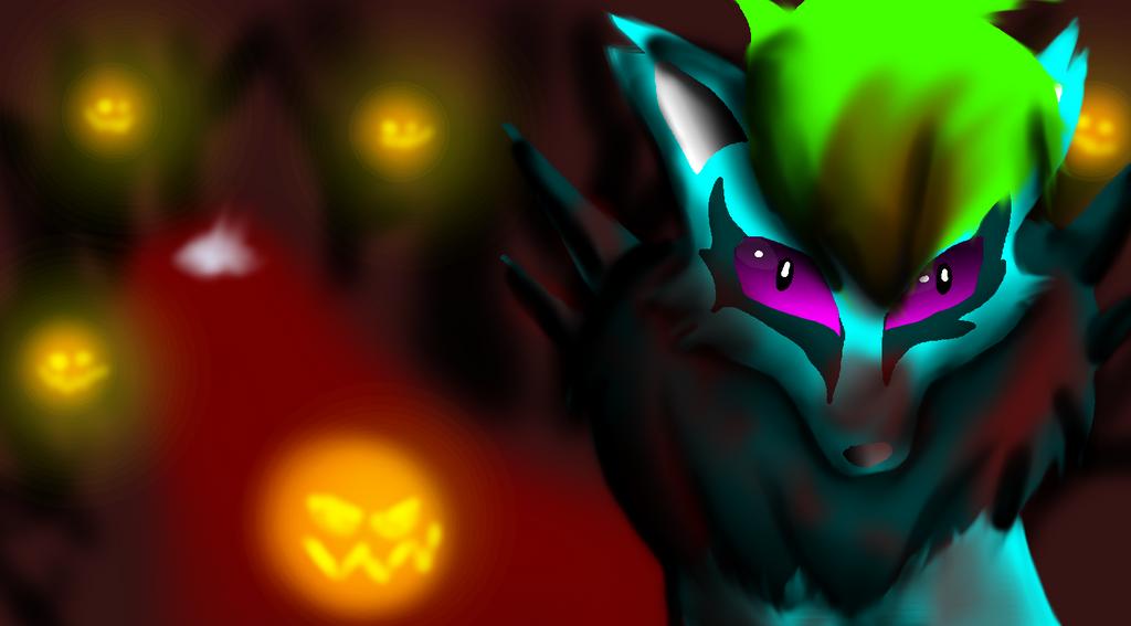 Bloody Halloween by wolfwrathgirl