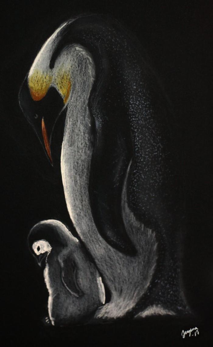 Penguins by Jangsara