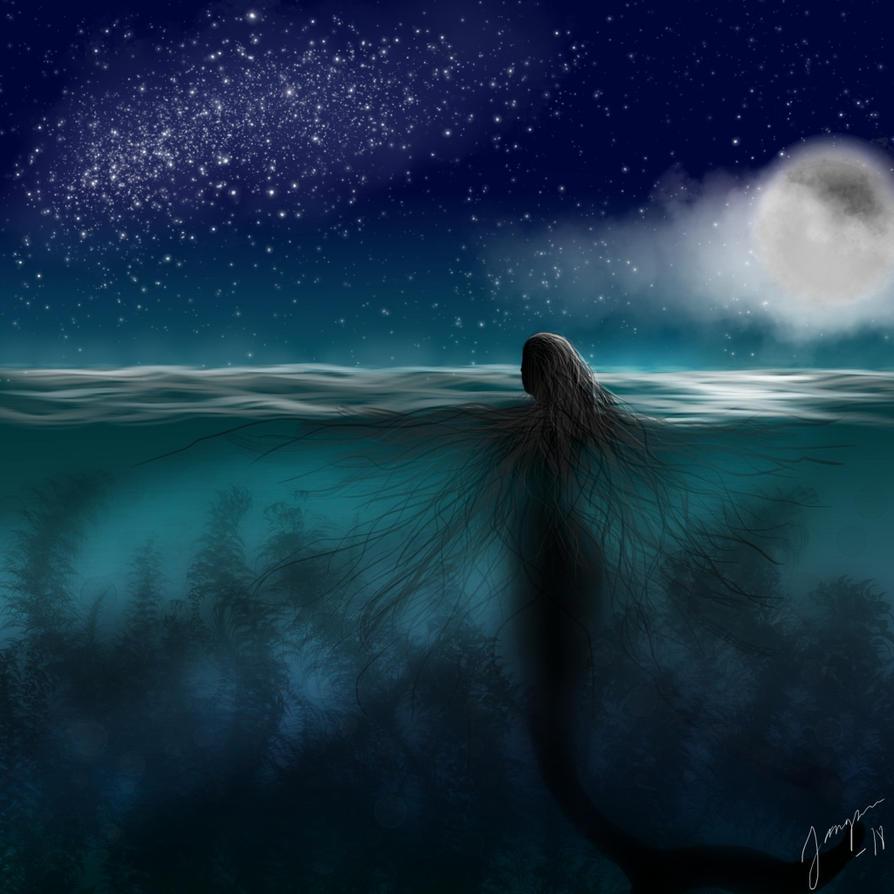 Stargazing Siren by Jangsara