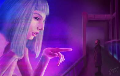 Bladerunner 2049 by Jangsara