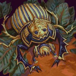 golden scarab