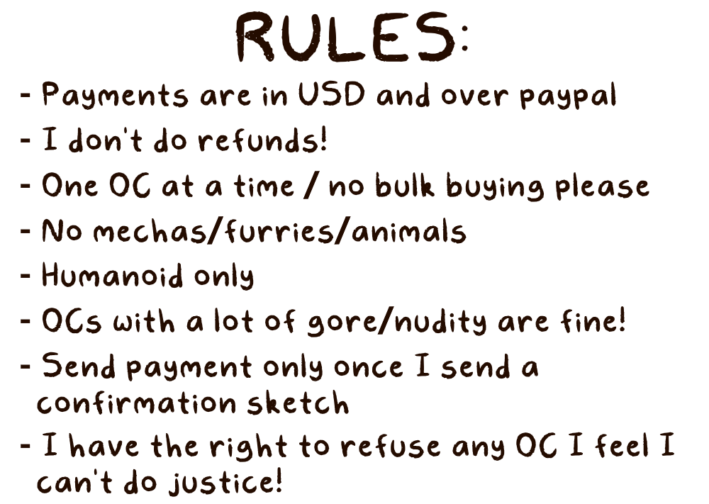 Rules by AlleycatIrony