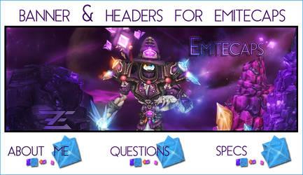 Emitecaps banner plus headers by Imanomnom