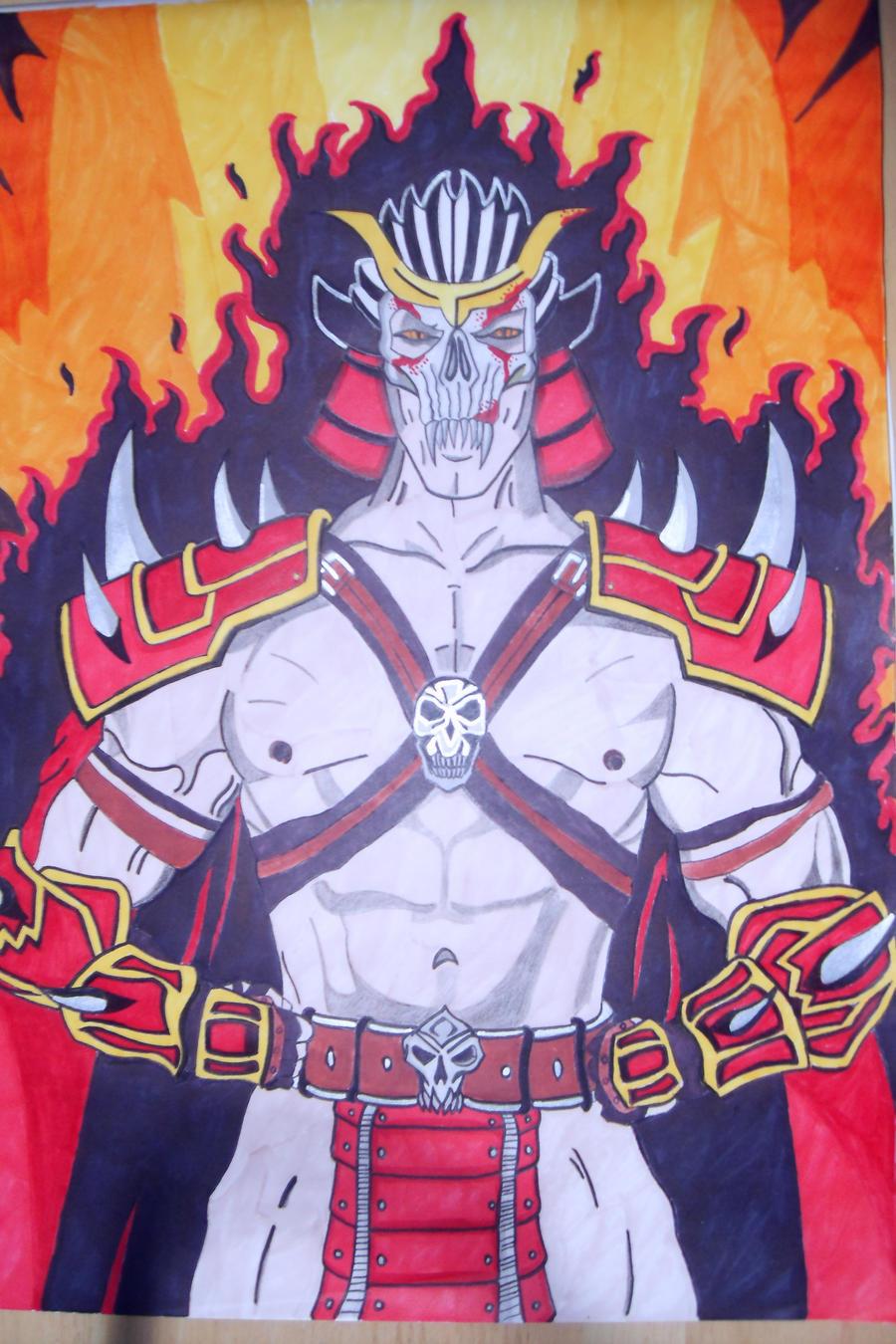 Mortal Kombat Emperor Shao Kahn by demonjester55