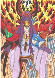 Blazblue Saya the true Kusanagi by demonjester55