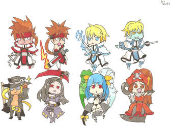guilty gear chibis 1 by demonjester55