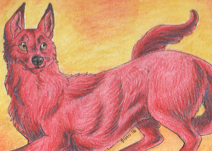 ACEO Ruby by Talonzi